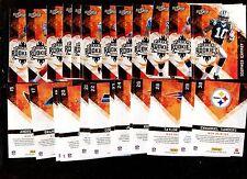 2010 FOOTBALL SCORE HOT ROOKIES 30 Card Set Tebow Bradford Gronkowski  Bradford
