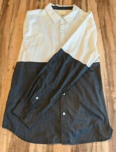 Men's Button Down Shirt - Large
