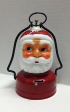 VTG AMICO Santa Claus Face Battery Operated Christmas Lantern 1950's  Japan