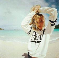 Plus Size Womens Long Sleeve Hooded Sweatshirt Pullover Tops Blouse Jumper Coats
