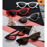 Women's Vintage Cat Eye Sunglasses Outdoor Eyeglass Shades Retro Eyewear Glasses