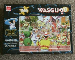 WASGIJ by JUMBO LTD ** BLOOMING MARVELLOUS! ** PUZZLE No 6 ** 1000 PIECES-USED