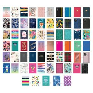 2022 Diary A7 Pocket Week To View Small Size Fashion Diary in Various Design