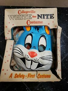 Vintage Collegeville White for Nite BUGS BUNNY Halloween Costume #203, Small 4-6