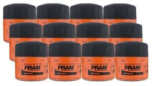 Fram Extra Guard PH3614 Spin-On Oil Filter - (Pack of 12)