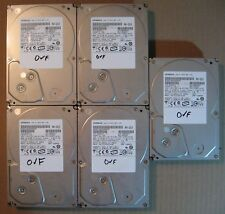"Lot of 5 Hitachi SATA 3.5"" 1TB Internal Desktop Hard Drive"