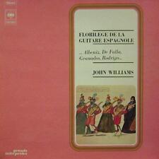 John Williams(Vinyl LP)Florilege De La Guitare Espagnole-CBS-CBS 75 860-France-N