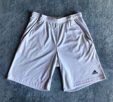 Adidas Climalite Men's White Shorts Size Medium