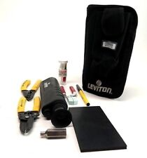 Leviton Voice & Data Division Fiber Microscope w/ Kit -