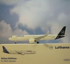 Herpa Wings 1:500  Airbus A321neo  Lufthansa  D-AIEA  534376  Modellairport500