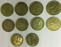 VINTAGE LOT OF 10 INGENIOUS SEX TOKENS - NOVELTY COINS - FRIENDLY & PROFESSIONAL