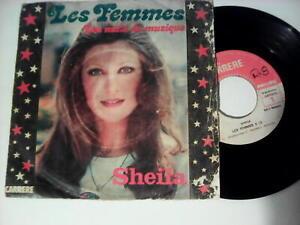 "Sheila 45 tours  ""Made in Madagascar"" LES FEMMES"