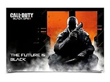 CALL OF DUTY BLACK OPS 2 THE FUTURE IS BLACK  POSTER 34x22 POSTER NEW