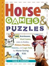 Horse Games and Puzzles for Kids: 102 Brainteasers, Word Games, Jokes and Riddle