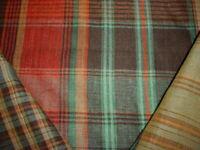 Ralph Lauren LFY68319F Wilhelm Linen Tartan Plaid Savanna Upholstery Fabric