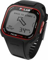 Polar RC3 GPS Running Watch Black/Red - Recycled Packaging