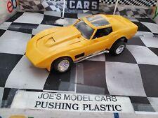 Built Model Car Older Built Chevy Corvette Older Built Piece Needs Window