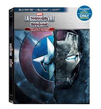 Captain America Civil War - Ultimate Collection Steelbook  (Blu-ray)