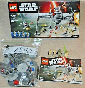 LEGO Star Wars Homing Spider Droid 75142 Yoda Battle Droid Elite Clone Trooper