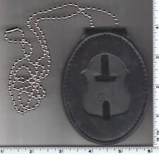Philadlephia Police (PA) Detective Recessed Badge Cut-Out Small Neck Hanger