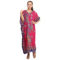 Summer Beach Wear Caftan Kaftan Loungewear Maxi Long Dress Cover Up Kaftan