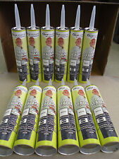 Lap Sealant Case of 12 White Dicor RV Camper Rubber Roof Repair Self Leveling