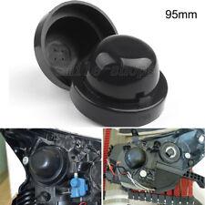 2pcs 95mm Rubber Housing Seal Cap Dust Cover For LED HID Headlight Kit Retrofit