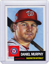 Daniel Murphy Nats now Chicago Cubs 2018 Topps 1953 Living Set 68 from Week 23