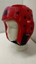 Macho Martial Arts Head Gear ATA Red Size Medium