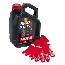 Motul 8100 X-Cess 5W40 Fully Synthetic Engine Oil, BMW LL-01 5 Litres