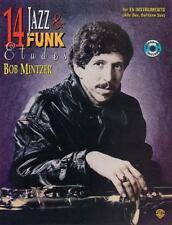14 Jazz & Funk Etudes: For B-Flat Instruments (Tenor Sax, Soprano Sax, Clarinet)