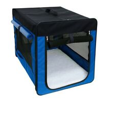 Hundebox faltbare Transporttasche Hund Katze Transportbox Grö�Ÿe S Blau neu