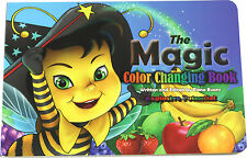 Magic Color Changing Book Childrens Learning Books Toddler Toy Kids Educational