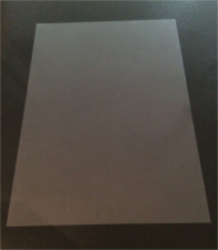 15 x A4 Clear Acetate Transparent Sheets -Thin Flexible Plastic OHP PVC Gel Film