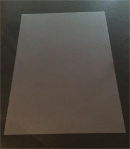 10 x A4 Clear Acetate Transparent Sheets -Thin Flexible Plastic OHP PVC Gel Film