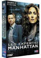 3 DVD ☆ LES EXPERTS MANHATTAN SAISON 3 EPISODE 13 A 24 ☆ NEUF SOUS BLISTER