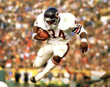 WALTER PAYTON AIRBORN c.1979 Chicago Bears Running Back NFL Premium POSTER Print