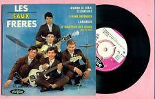 LES FAUX FRERES - QUAND JE SERA CELIBATAIRE + 3 - VOGUE EPL 8185 ( BIEM - 1963 )