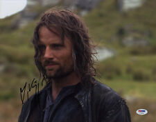 Viggo Mortensen SIGNED 11x14 Photo Aragorn Lord of the Rings PSA/DNA AUTOGRAPHED