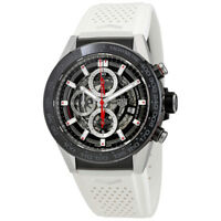 Tag Heuer Carrera Skeleton Dial Automatic Mens Chronograph Watch