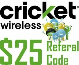 FREE_$25 Cricket Wireless Referral CODE_SEE DETAILS_DO NOT BUY
