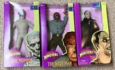 Hasbro Signature Collection Universal Studios Monsters Figures x 3 NEW Wolf Man