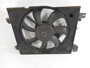 03-08 Hyundai Tiburon Engine Condenser Cooling Fan W/ Motor & Shroud OEM