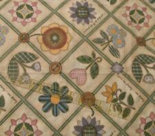 Daisy Kingdom Beth Yarbrough Heart & Flower cheater cotton fabric 3/4 yard