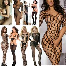 Sexy Lingerie Fishnet Body Stockings Dress Underwear Babydoll Sleepwear EL