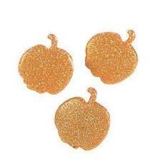 12 Glitter Pumpkin  Brads Scrapbooking  Other Crafts New Fall Halloween