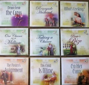 Heartsong Presents Audio Books Lot of 9 Romance Christian 36 CD Bundle Religious