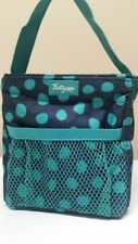31 THIRTY-ONE Littles Carry-All Caddy in Navy Lotsa Dots - Retired Pattern - EUC