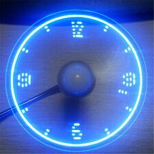 PortableMini USB Glare LED Fan Flexible Gooseneck Desk Fan Gadget