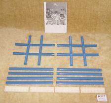 Lego Sets train supplémentaire 4.5V: 155-1 Cross rails, Straight Track & plaques #2
